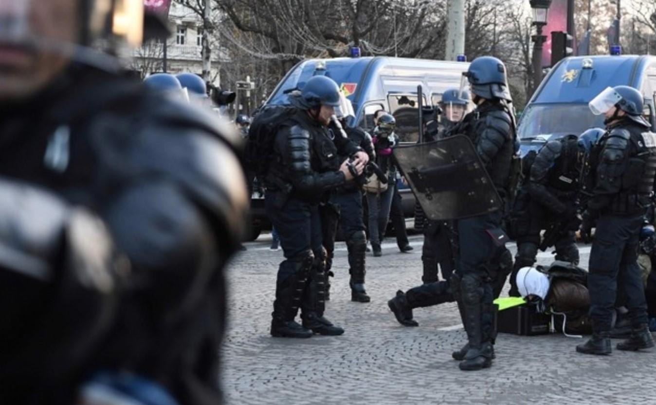 Протесты во Франции. Фото: Twitter