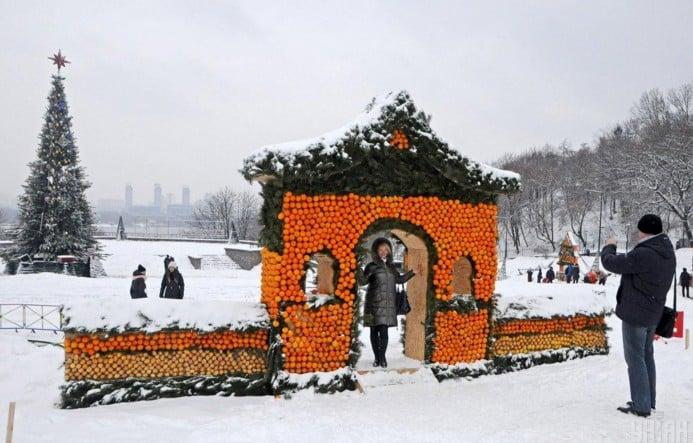 Цитрусовий фестиваль в Києві на Співочому полі