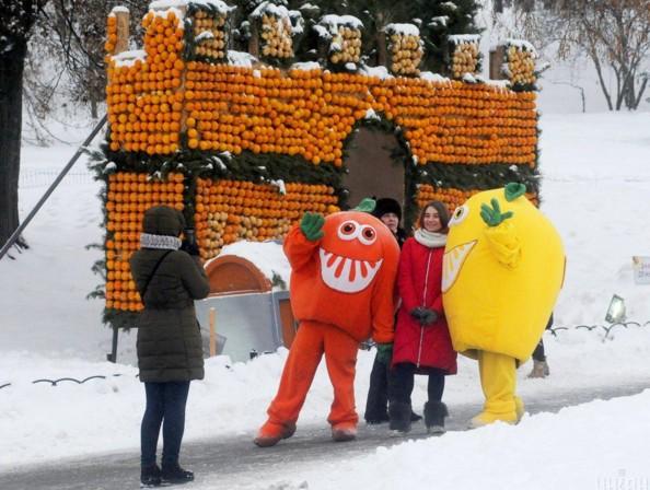Цитрусовий фестиваль в Києві на Співочому полі. Фото: УНІАН
