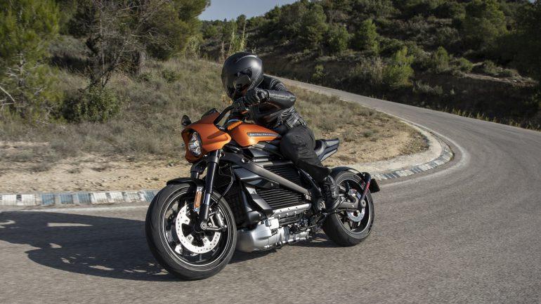 Електробайк Harley-Davidson. Фото: The Verge