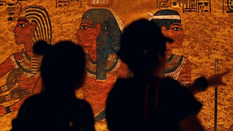Гробницу Тутанхамона в Египте открыли после реставрации (ФОТО), фото-1
