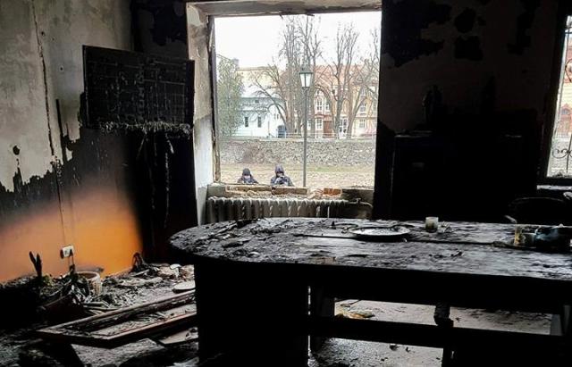 Фото: офіс «Товариства угорської культури Закарпаття» в Ужгороді