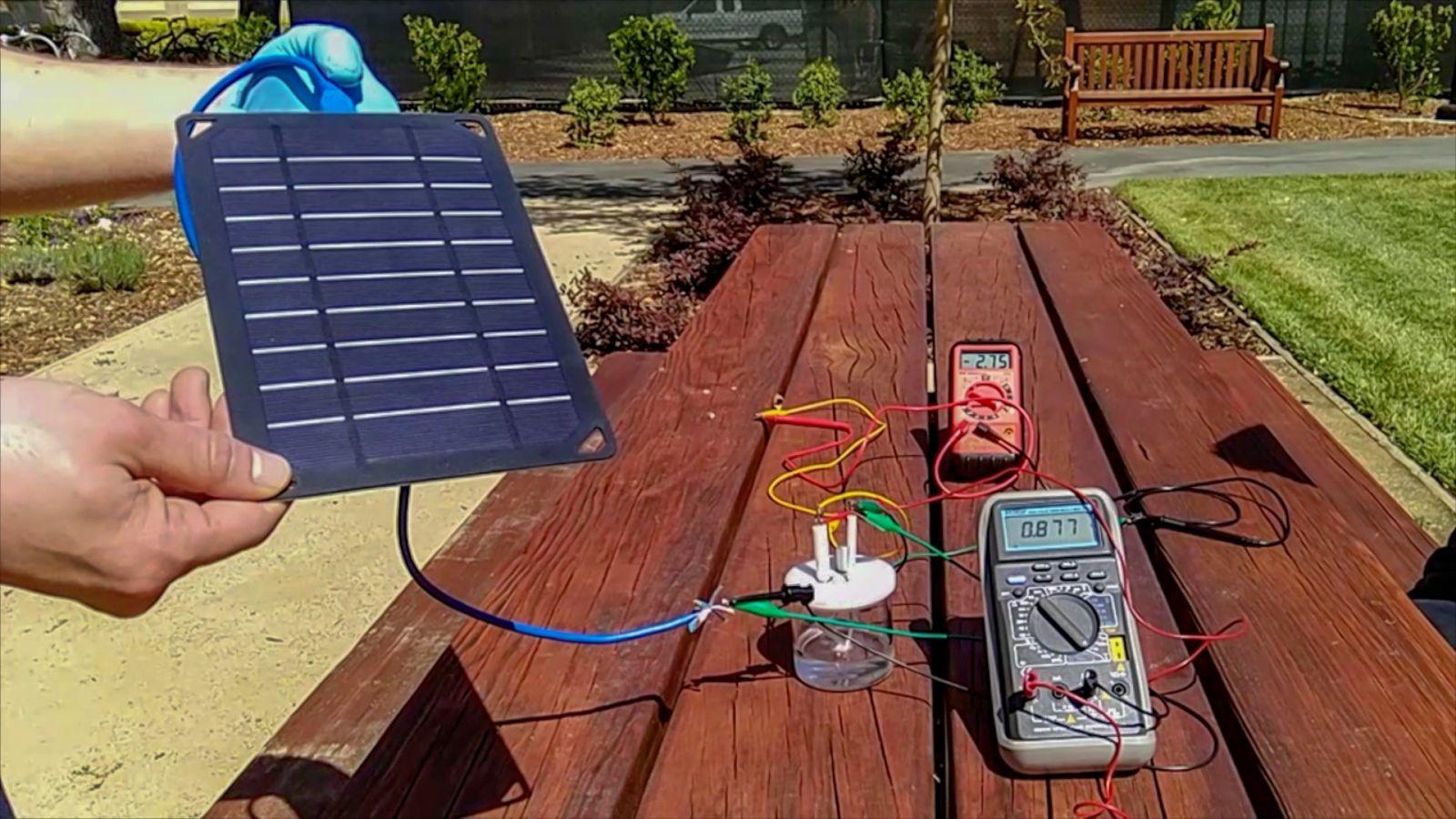 Прототип устройства для получения водорода из морской воды, фото: Science Alert