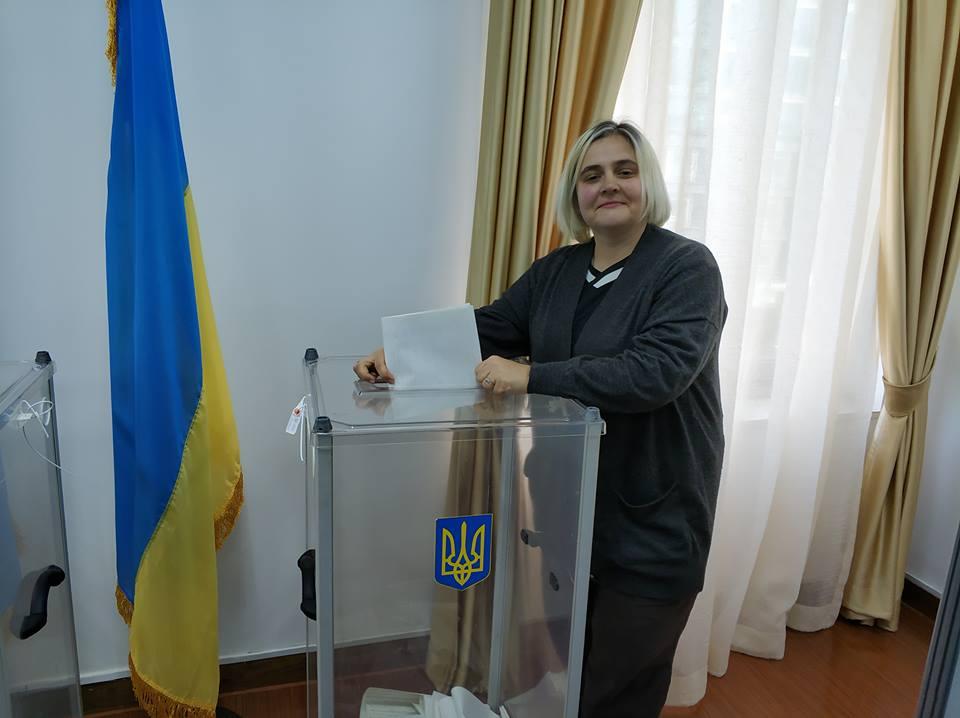 Выборы президента: украинцы в Шанхае уже проголосовали / Фото: Юлия Смаль, Facebook