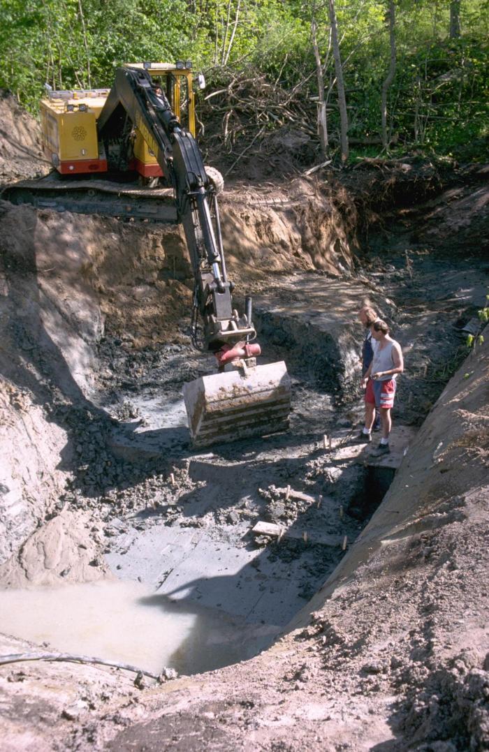 Место раскопок в Гусьби Клив, фото: EurekaAlert