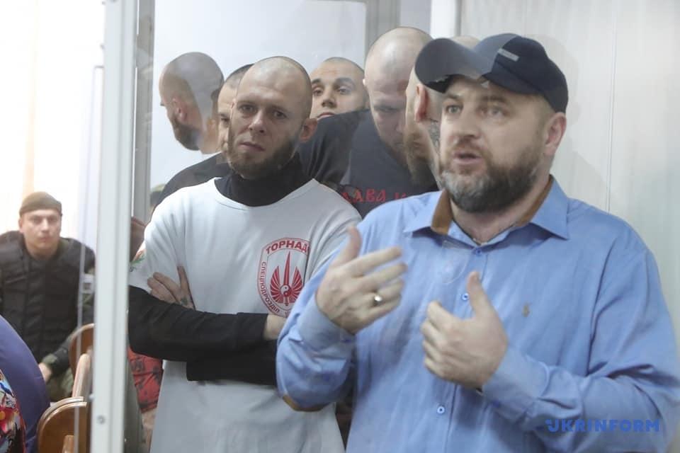 Батальон «Торнадо»: в Киеве проходит суд по делу экс-бойцов . Фото: Укринформ