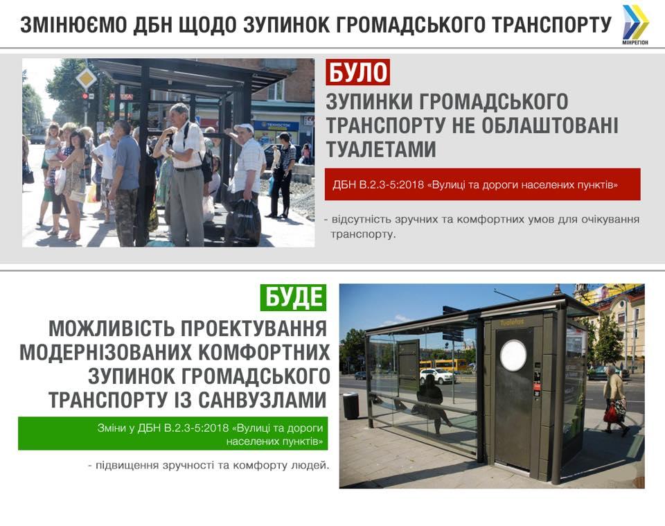 Зупинки майбутнього в Україні. Фото: Facebook