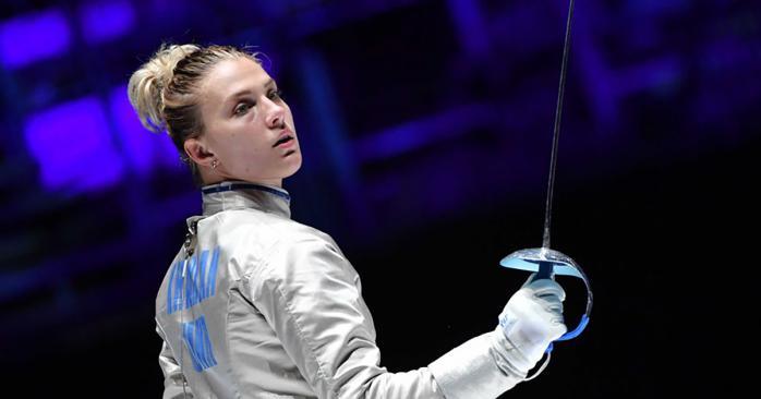 Українська тенісистка Ольга Харлан. Фото: НОК України у Facebook