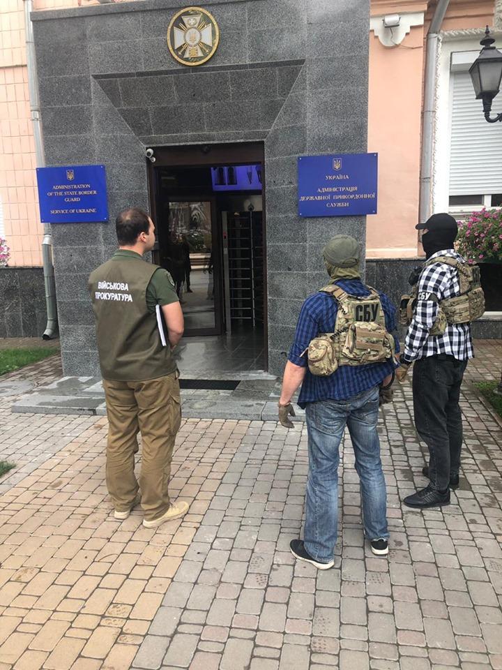 СБУ обшукує Кабінет міністрів і Фіскальну службу. Фото: прес-центр спецслужби