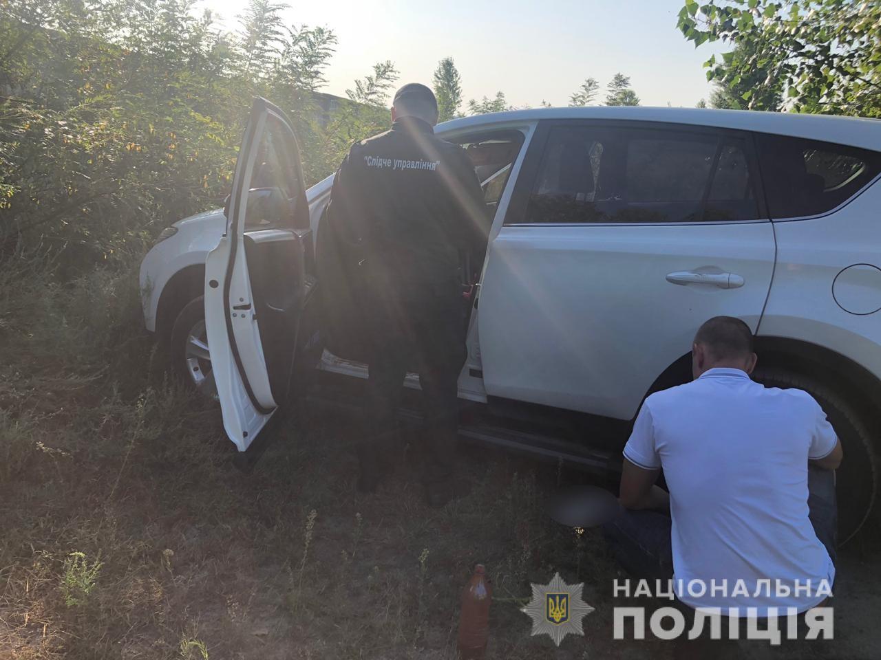 Под Киевом исчезли мать и дочь: полиция нашла автомобиль женщин. Фото: Нацполиция