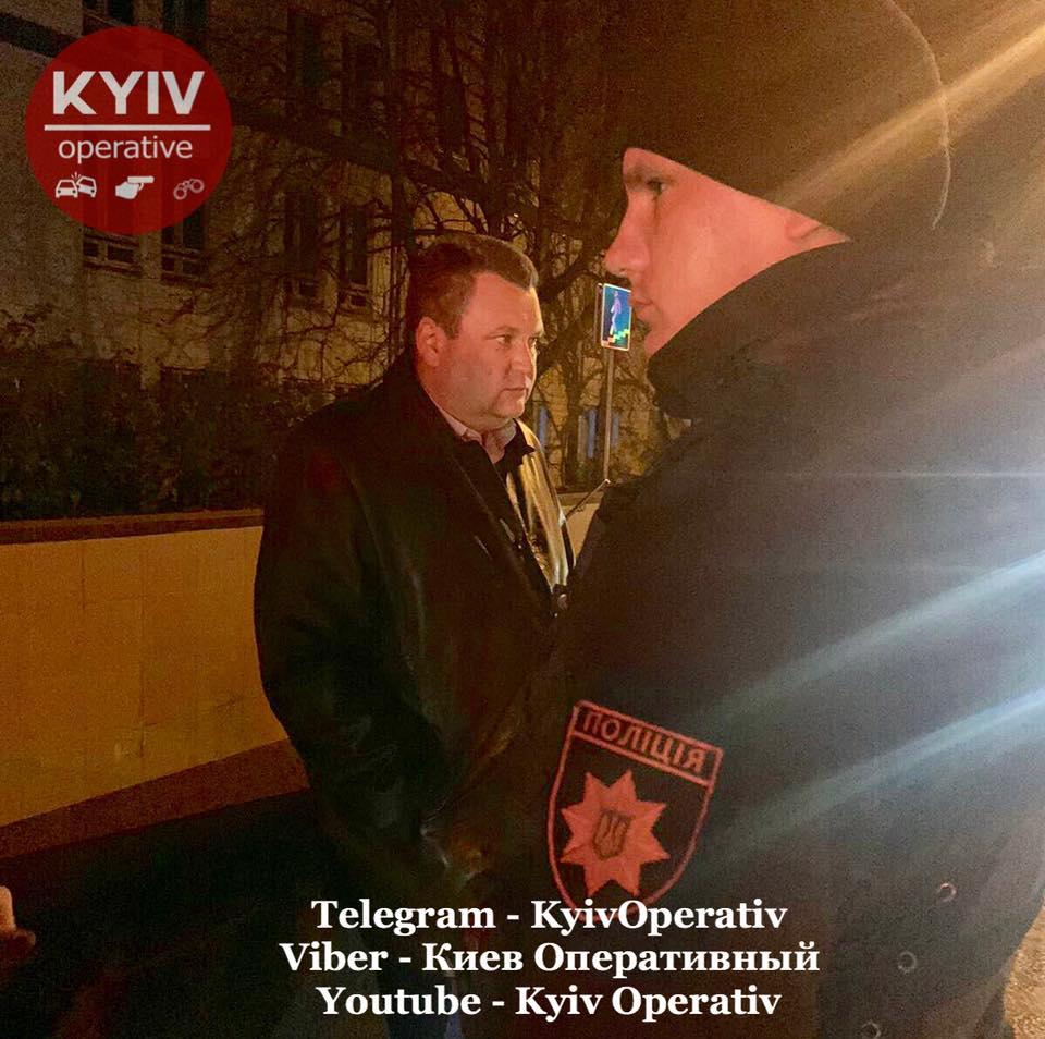 Прокурора Генпрокуратури затримали в Києві. Фото: «Київ Оперативний» у Facebook