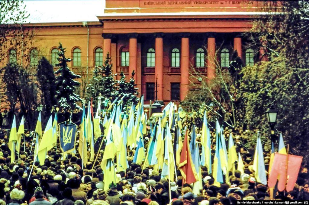 Перезахоронение Стуса, Литвина и Тихого. Фото: Сергей Марченко / Радио Свобода