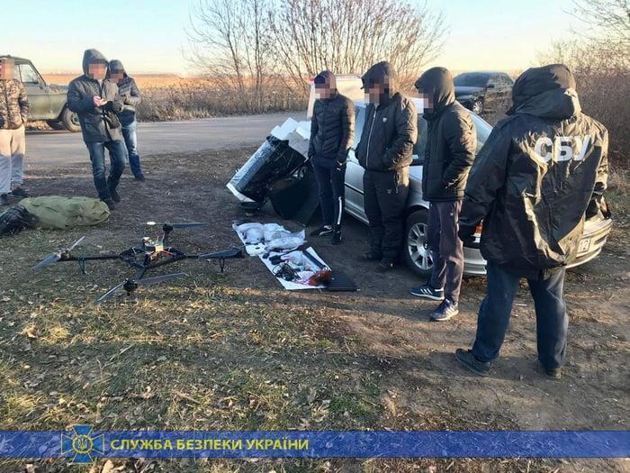 Повітряна контрабанда: з Кривого Рогу в РФ на безпілотнику переправляли канабіс. Фото: СБУ