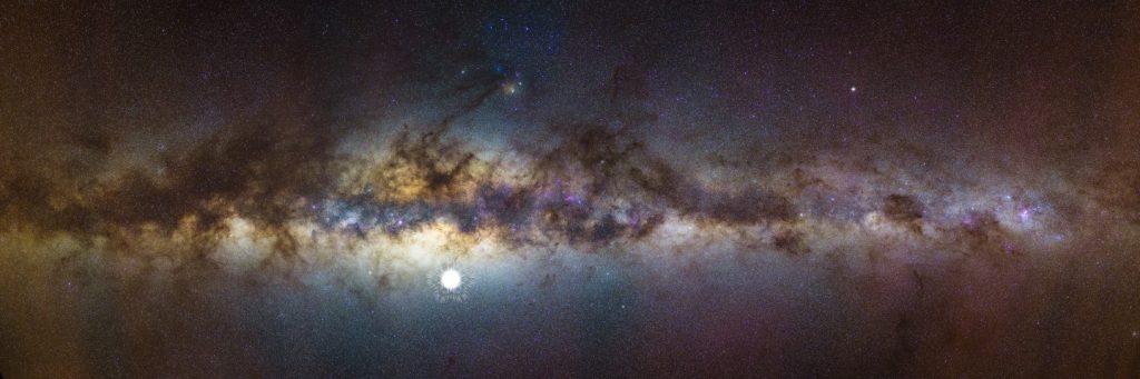 Астрономи показали, як виглядає Чумацький шлях в низькочастотних радіохвилях. Фото: ХАЙТЕК