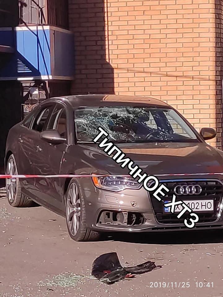 Вибух у Харкові: підірвано автомобіль адвоката. Фото: Facebook