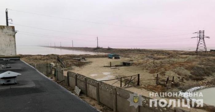Насосна станція забезпечувала сировиною завод в окупованому Криму, фото: Національна поліція