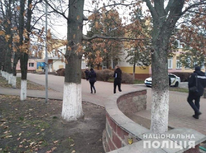 Распыление газа в школе в Киевской области: 15 учеников получили ожоги глаз. Фото: Нацполиция