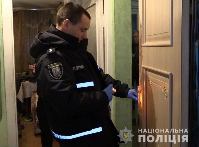 Місце злочину. Фото: Нацполіція Києва