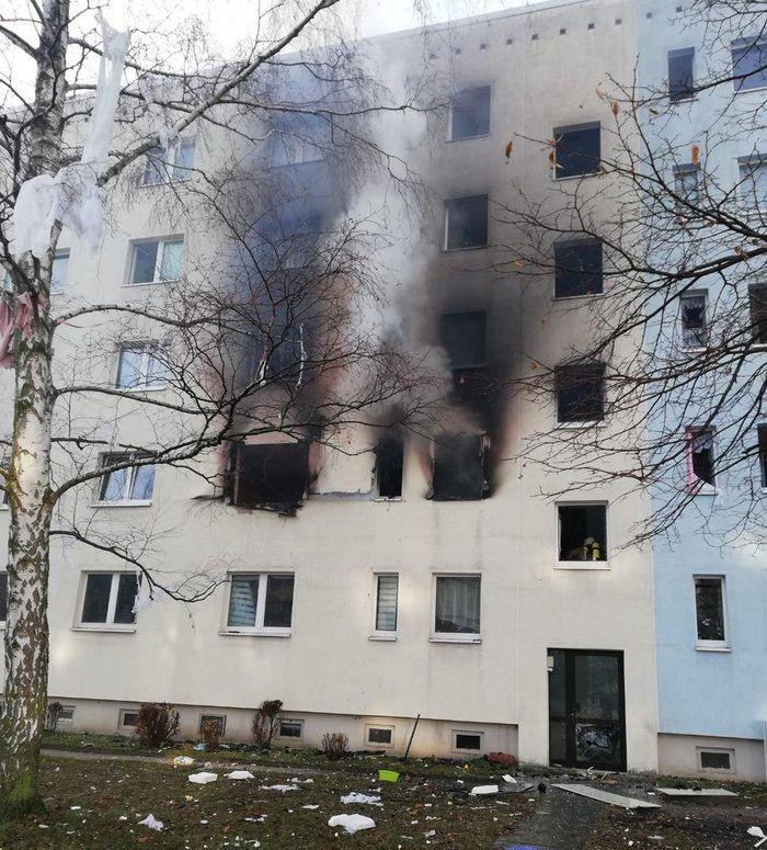 Вибух у багатоповерхівці у Бланкенбурзі. Фото: MDR