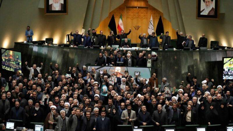 """Збитий """"Боїнг"""": парламент Ірану пробачив елітний армійський підрозділ, який розстріляв український «Боїнг», фото — IRNA"""