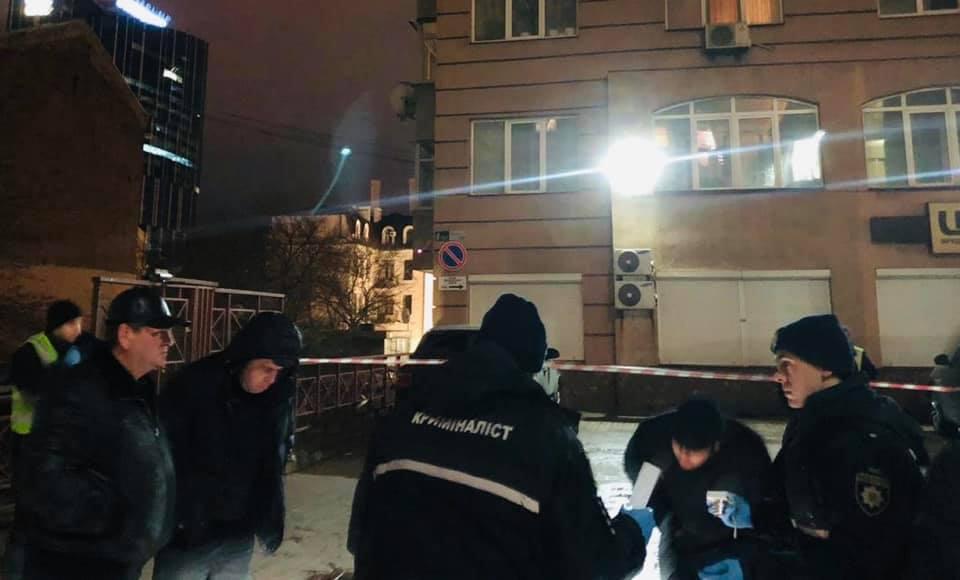 Мужчину убили  вцентре столицы Украины