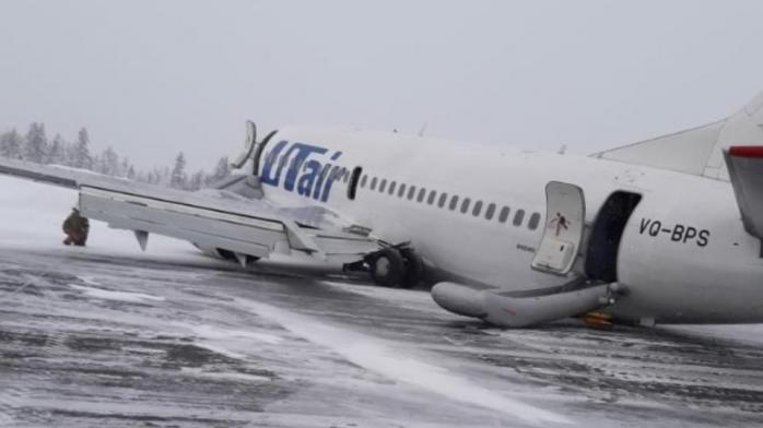 В РФ самолет совершил жесткую посадку: есть пострадавшие. Фото: Лентач