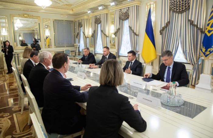 Встреча Зеленского с сенаторами, фото: Офис президента