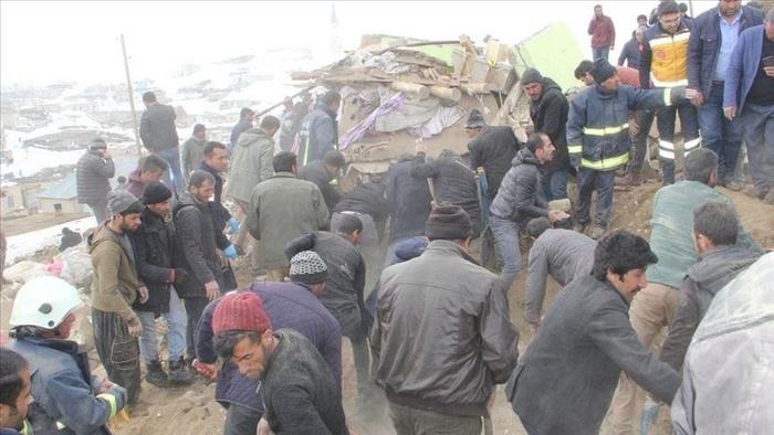 Землетрус у Туреччині. Фото: Anadolu