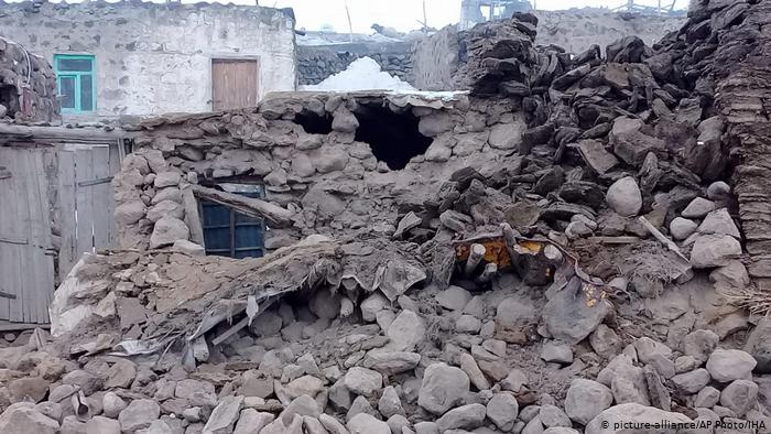 Землетрус у Туреччині. Фото: DW
