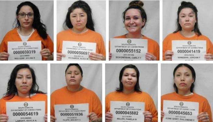 Восемь женщин, сбежавших из тюрьмы в Южной Дакоте, фото: Newscenter1