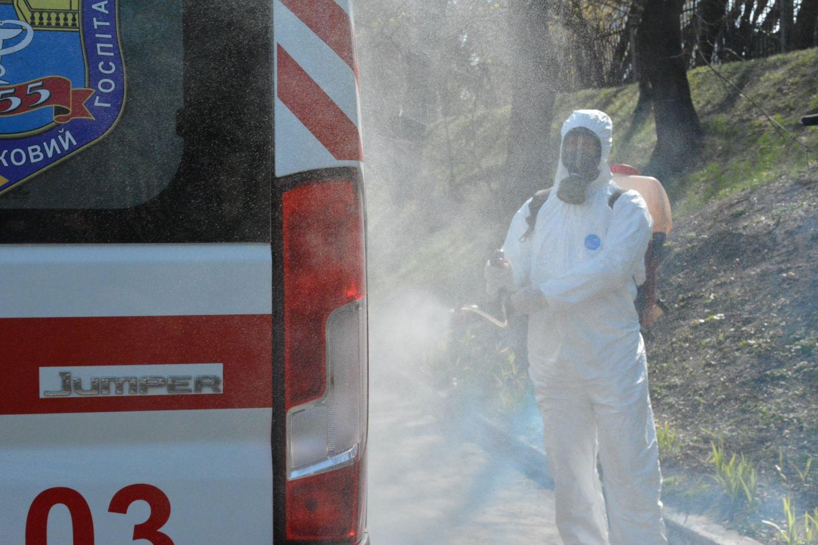 Коронавирус в ВСУ: двое военных инфицированы, почти 140 — на изоляции. Фото: Медицинские силы ВСУ
