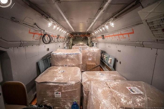 Гуманітарна допомога. Фото: Facebook