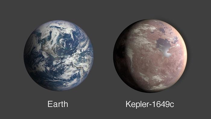 Планета Kepler-1649c. Фото: jpl.nasa.gov