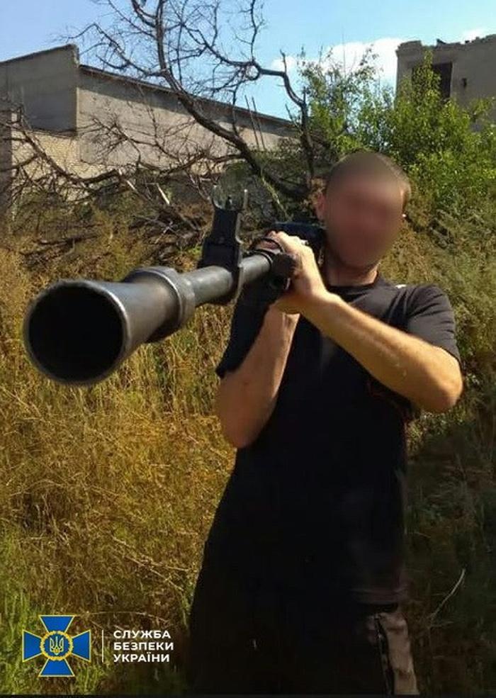 На Харківщині затримано бойовика так званої ДНР. Фото: СБУ