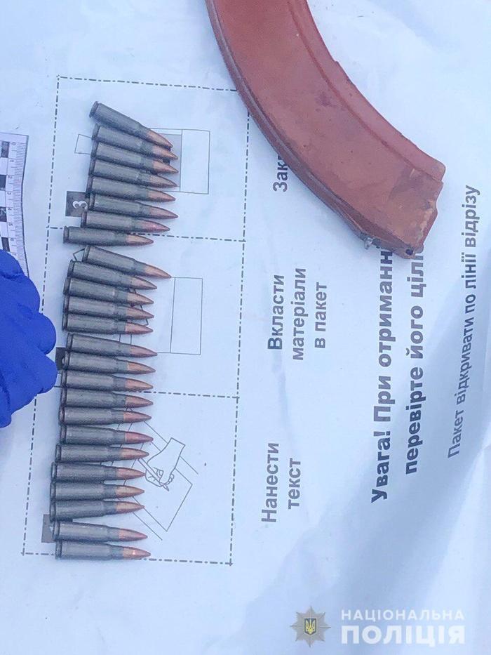 На Київщині підліток застрелив ветерана АТО із його ж зброї. Фото Нацполіція