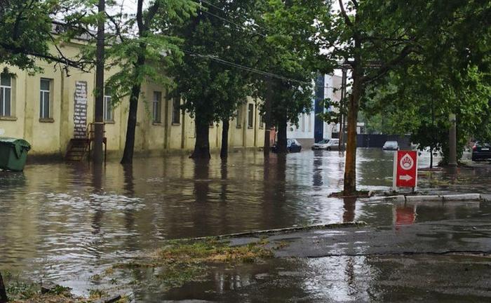 Потоп в Одесі. Фото: news.liga.net