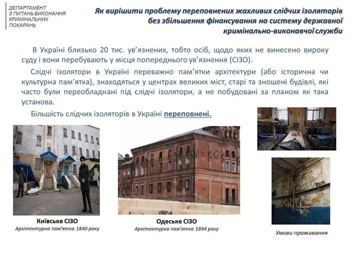 Малюська розповів про вигідність продажу в'язниць. Фото: Facebook