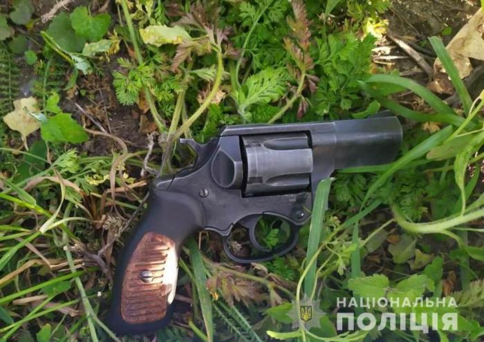 У селі Княжичі підстрелили депутата райради, фото: Національна поліція