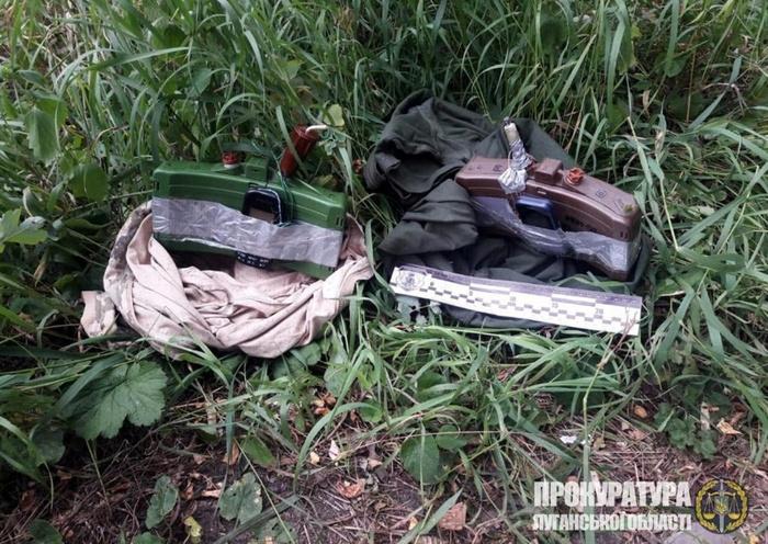 На Луганщині колишній військовослужбовець ЗСУ готував низку терактів. Фото: Офіс генпрокурора