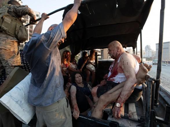 Вибух у Лівані забрав життя 78 осіб