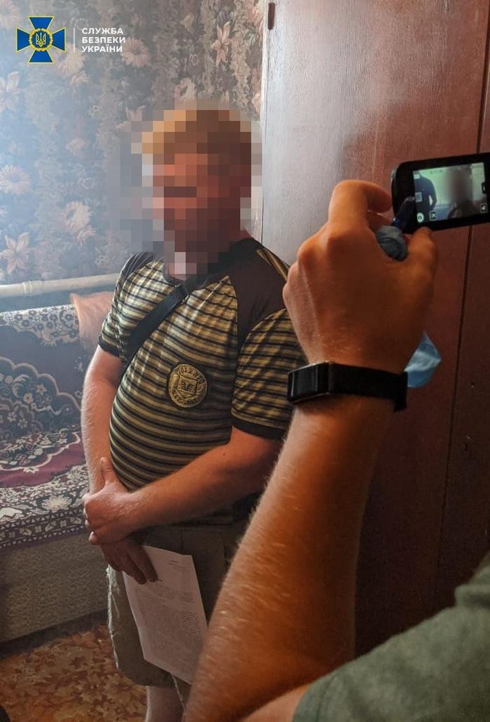 Екс-боєць ЗСУ займався антиукраїнською пропагандою. Фото: СБУ