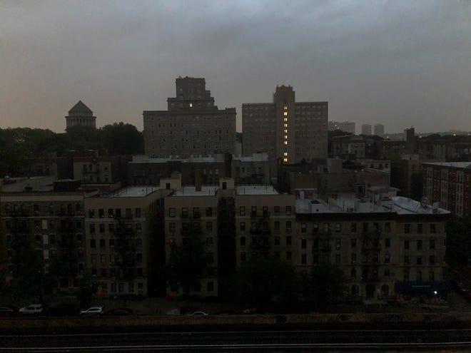 Нью-Йорк без света. Фото: Forbes