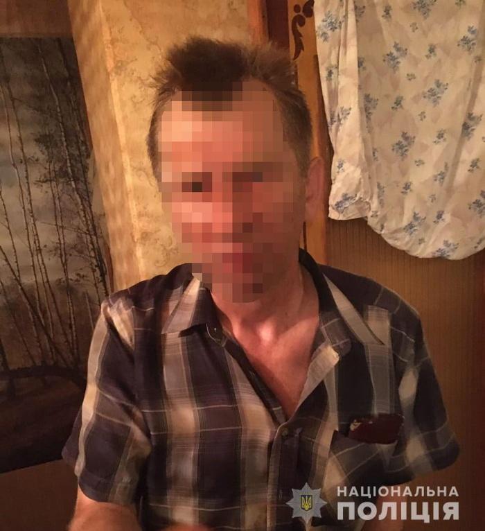 Чоловік-ревнивець облив дружину спиртом і підпалив на Вінниччині. Фото: Нацполіція