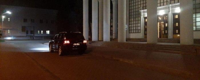 Автомобиль из кортежа, фото: «Харьков Один»
