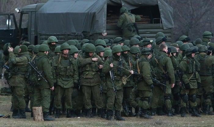 Захоплювати «гідротехнічний вузол» вчилися військові Росії на тлі зневодненого Криму