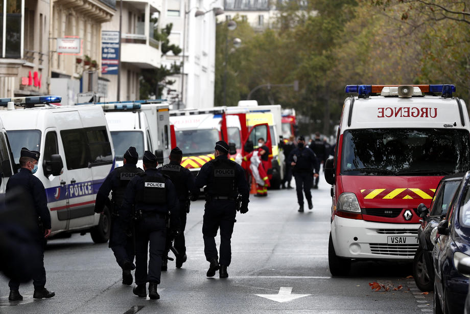 Теракт у Парижі. Фото: Reuters