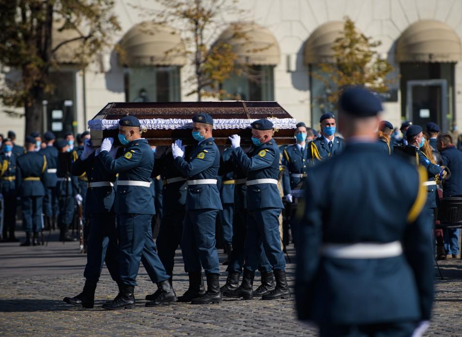 Церемония памяти. Фото: пресс-служба ОП