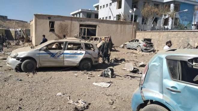 Взрыв в Афганистане. Фото: Радио Свобода