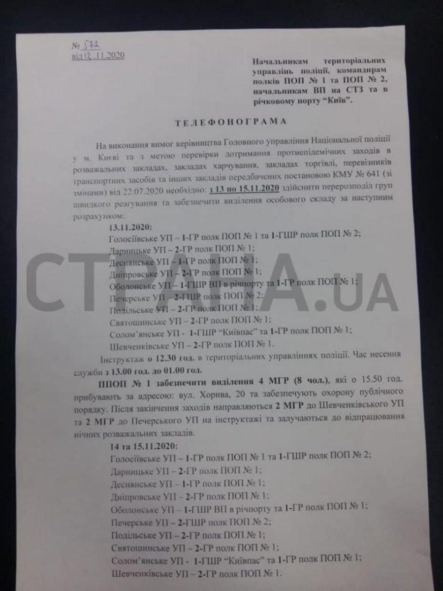 Карантин вихідного дня посилено пильнуватимуть поліцейські Києва