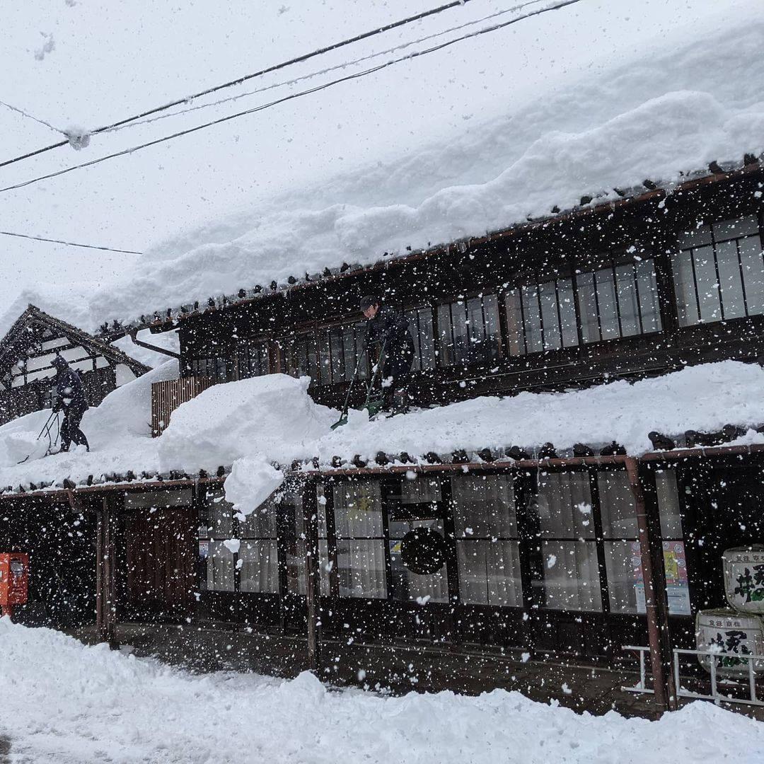 Снігопад в Японії. Фото: Twitter